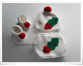 Baby Crochet Pattern, PDF Pattern, Baby Crochet Booties, Diapers For Babies, Baby Clothing