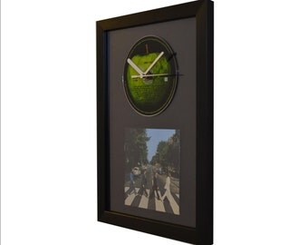 The Beatles – Abbey Road - CD and Art Clock