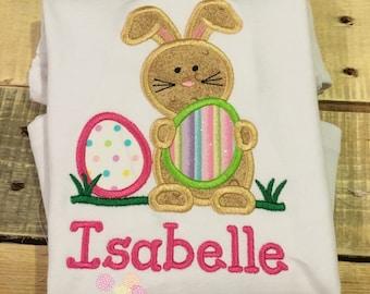 Easter Bunny Shirt / Easter Shirt / Girl Easter Shirt / Toddler Girl Easter Shirt / Infant Girl Easter Shirt / Rabbit Shirt / Bunny Shirt