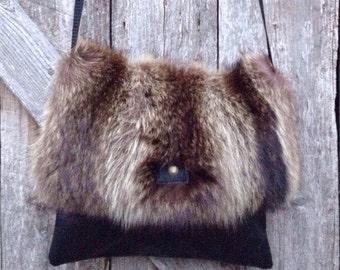 Fur handbag * Fur handbag