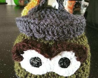 Oscar the grouch beanie