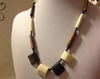 Animal Bone Necklace. Made in Kenya