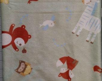 Noah's Ark Animals Baby Blanket
