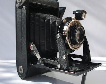 Vintage Folding Shutter Voigtlander Bessa Decorative Use Old Black Late 1930s Camera - Free Postage