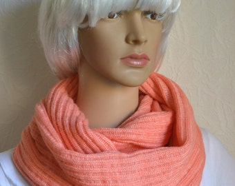 Handmade light shawl - snood scarf
