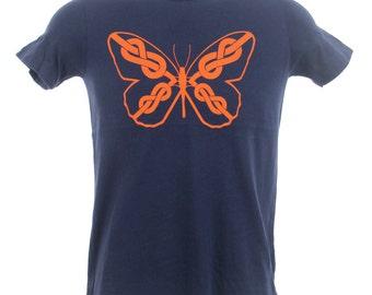 Crimp Crusher Rock Climbing Shirts - Figure Eight Butterfly