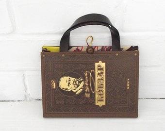 Book purse, Book Clutch, Kobzar