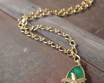 Emerald Sea Necklace