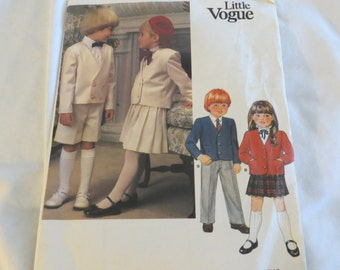 Little Vogue Pattern (Never Used)