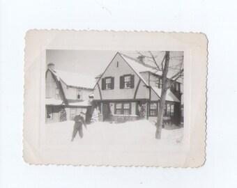 Vintage photograph, Found Photo, Old Photo, Vernacular Photo, Paper Ephemera, Snapshot_38