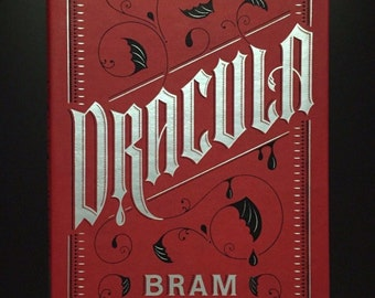 Dracula by Bram Stoker, Barnes & Noble Collectible Flexibound Edition