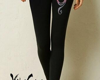 Yoga. Yoga Leggings. Ohm Leggings. Yoga Clothes. Yoga Clothing. Leggings. Workout Leggings.  Ohm