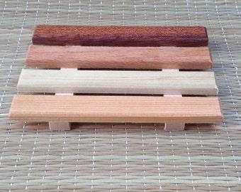 Wooden Soap Dish, Handmade Soap Dish