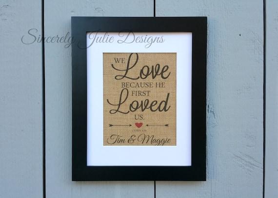 Wedding Gift, Personalized Wedding Sign, Religious wedding gift ...