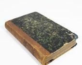 1878 Dante book Dante Alighieri book Divine Comedy book Collectable book Antique library Gift for reader Old Italian book Book in Italian