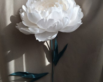 Paper Flower for Bridesmaids - Paper Flower Bouquet - Single Paper Flower
