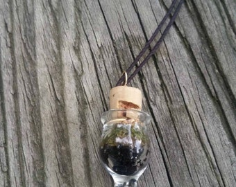d r u z y quartz_Healing Terrarium Necklace