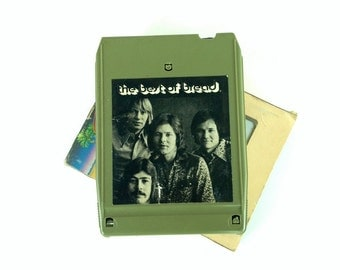 Vintage 8 Track Tape, The Best of Bread, Elektra, Casablanca Recording, 1975, Stereo Tape Cartridge, 70s Music, David Gates, Music Decor