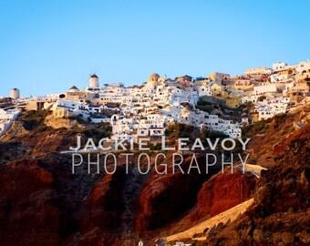 Santorini Cliffside