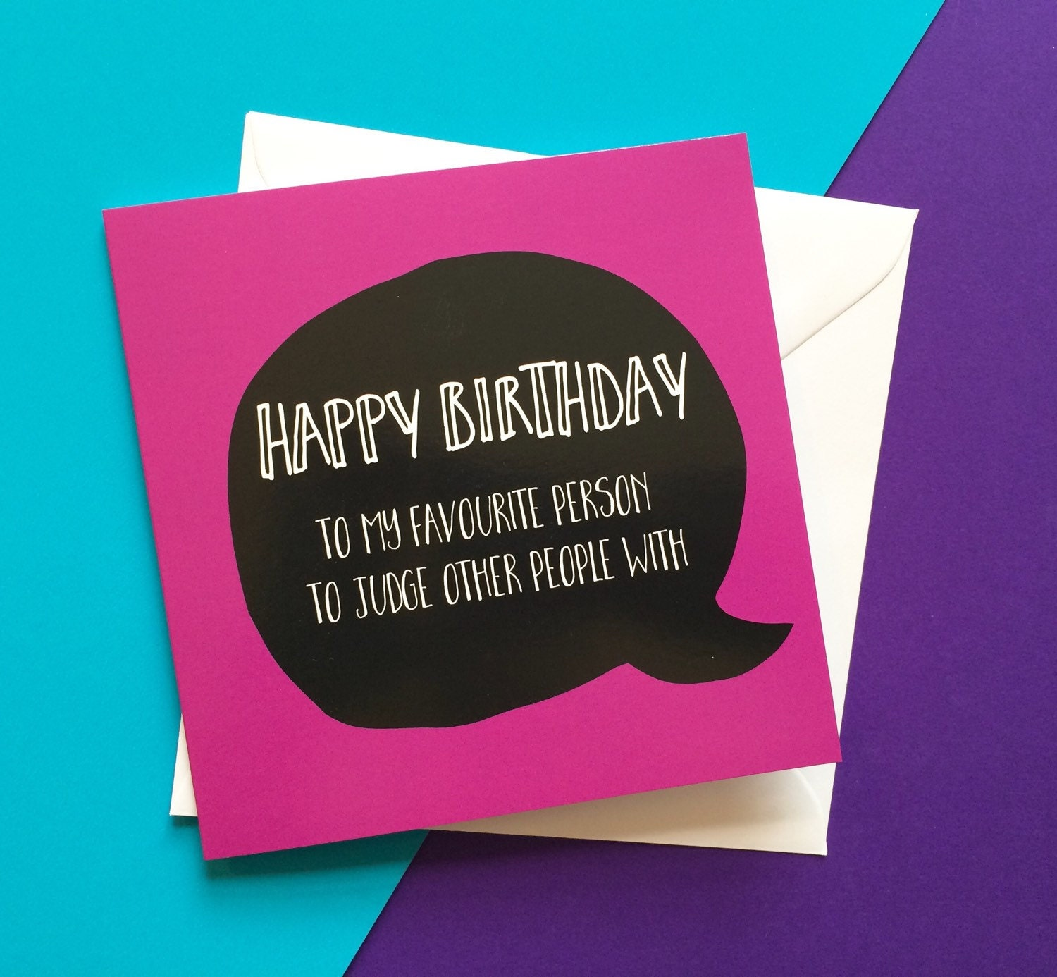 Best Friend Birthday Card Judge People Birthday Card For Her