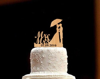 Personalized Wedding Topper bride and groom Wedding Cake Topper Rustic Wedding Topper Wood Wedding Cake Topper Mr and Mrs Topper Wedding