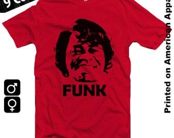 James Brown American Apparel T-shirt Men/Women S-XXL Music, Cult, Funk, Soul, Blues, Rock, Cool Gift!