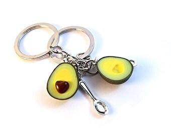 Bff Avocado keychains