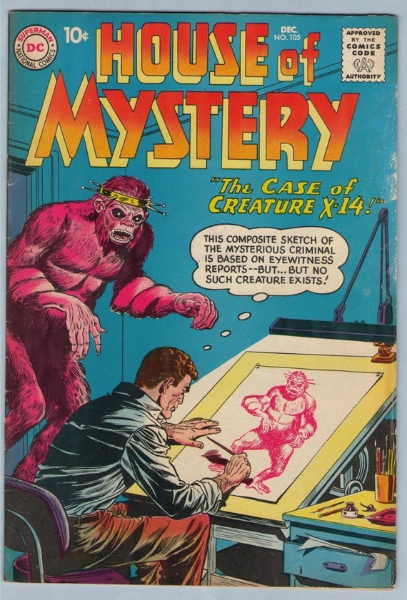 House of Mystery 105 Dec 1960 VG-FI (5.0)