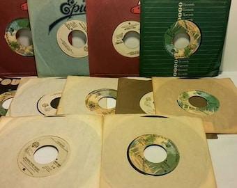 Leo Sayer 45 rpm Record Collection (11 records)