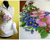 Ukrainian embroidery, beads embroidery, beads, modern embroidery, embroidery, women blouse, hand embroidery, ukraine, ukrainian blouse
