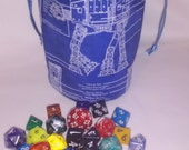 Bag of dice large type