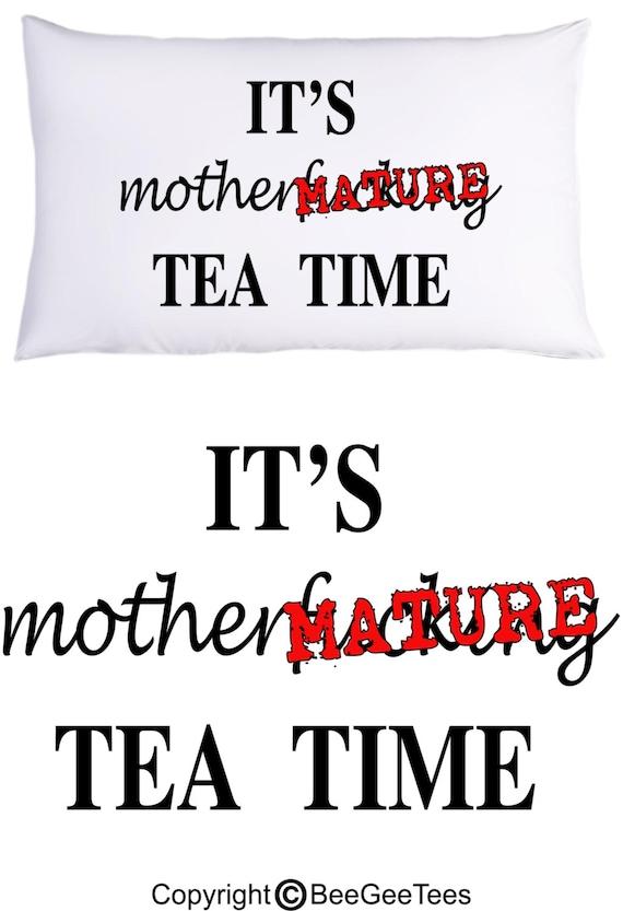 Mature Tea Time 121
