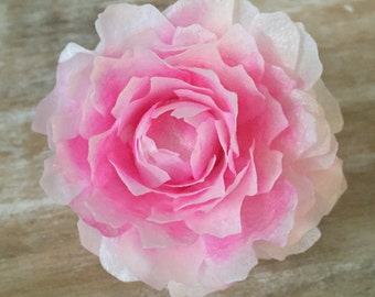 "Edible Peonies, Wafer Paper Flowers for Cakes - ""Bomb Style"""