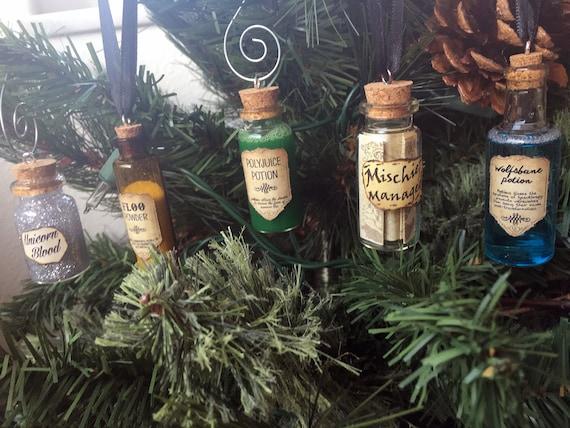 Harry Potter Potions Ornaments by TayPop