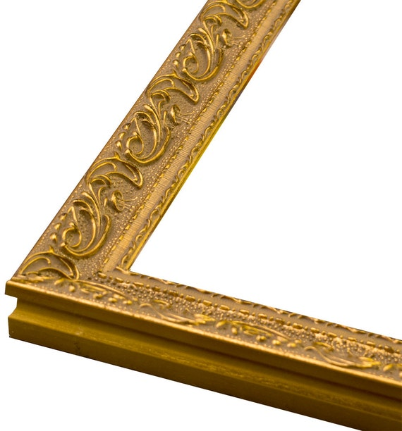 Ornate Gold 1 Picture Frame. All sizes.