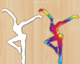 "DMB Inspired Dancer 5"" Vinyl Decal"