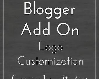 Blogger Logo Customization - Blogger Add On