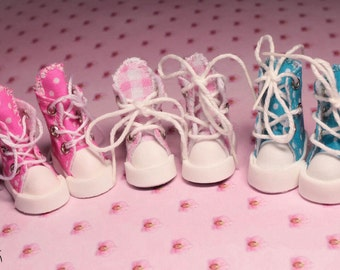Handmade sneakers and shoes for 1/6 dolls