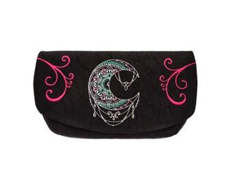 Purse // Purse bag for women // Bridesmaid clutch // Bridesmaid gift // Clutch bag // Clutch purse // Women purse // Black handbag