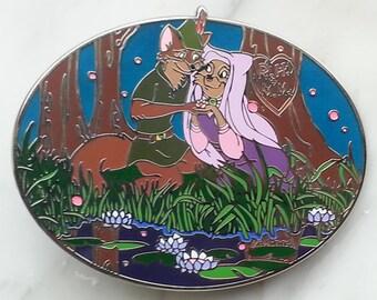 Robin & Maid Marian Fantasy Pin