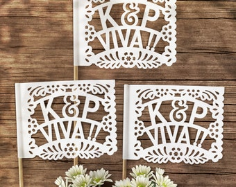 Papel Picado Flags (Personalized)