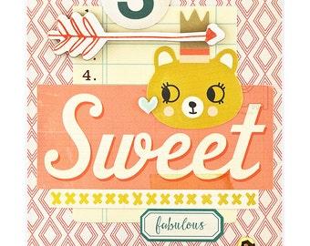 3rd Birthday Card - Happy 3rd Birthday Card - Three Year Old Birthday Card - 3 Year Old Girl Birthday - Turning 3 - Granddaughters Birthday
