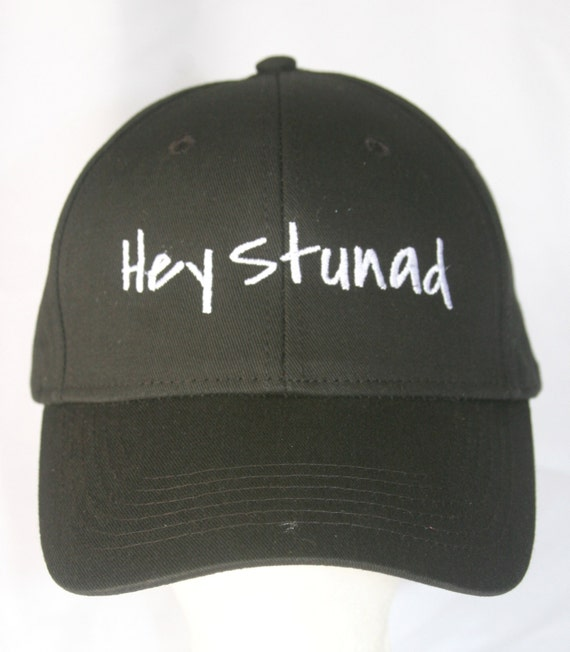 Hey Stunad (Polo Style Ball Black with White Stitching)