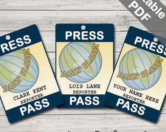Priceless image throughout lois lane press pass printable