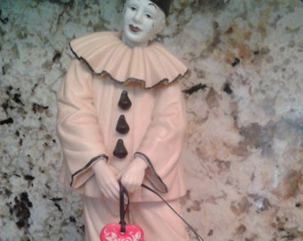 Goebel clown vintage 1990's.  Limited edition titled opening act. Mint condition