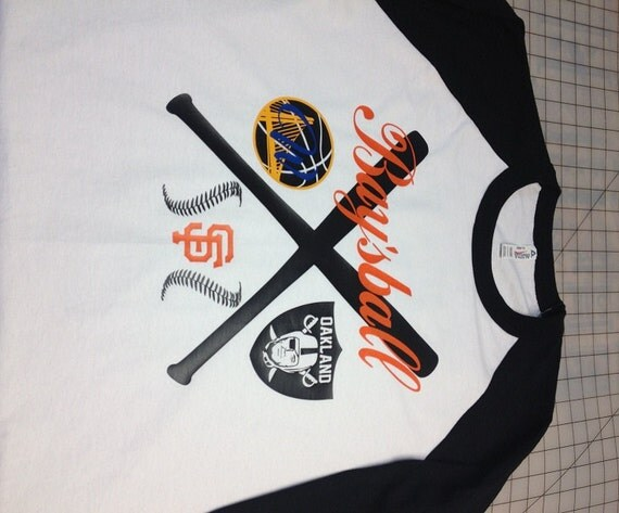 Adult Giants Raiders Warriors Baysball By Atbsinepariapparel