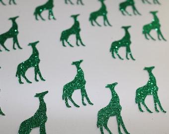 Giraffe Glitter Confetti~ Choose Two Colors