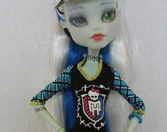 OOAK Monster High Repaint - Frankie Stein - Ghoul Spirit