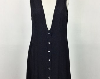 Deep V Rayon Dress