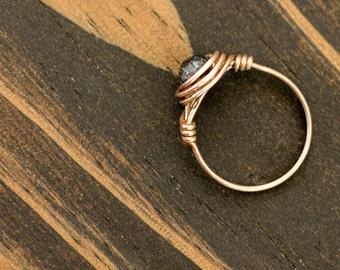 Blackstone Copper Ring